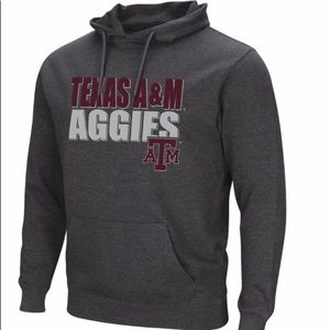 Mens Texas A&M Aggies Graphic Pull Over Hoodie